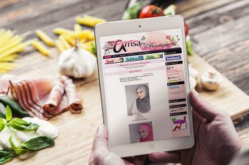 online shop blog website
