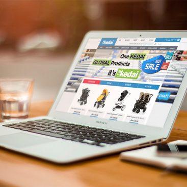 kedai online web design