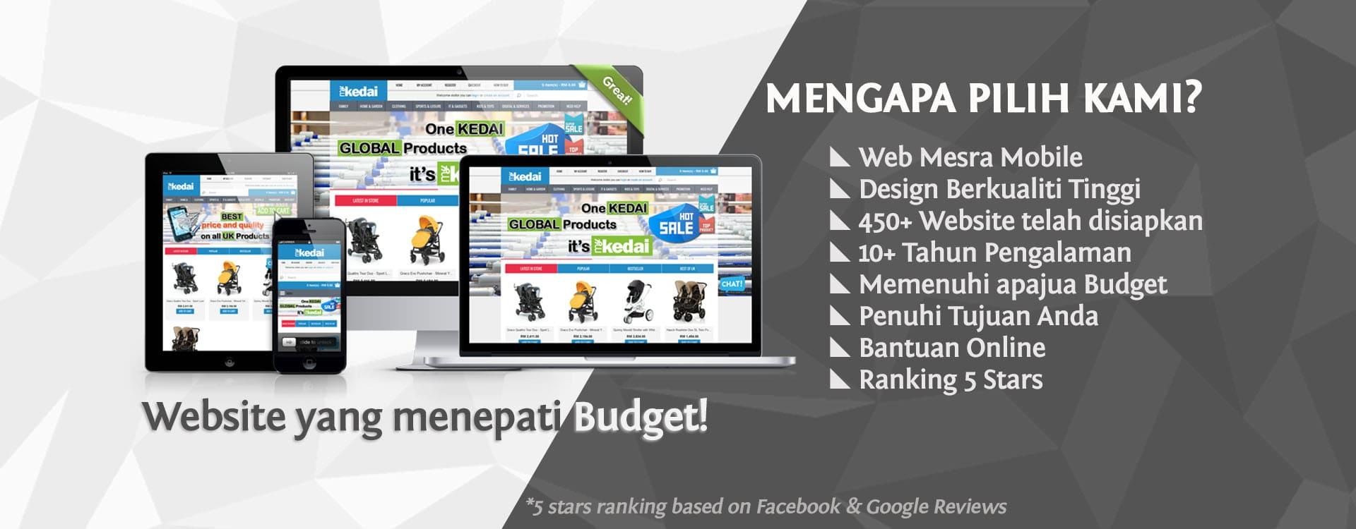 Website Designer Terbaik di Malaysia