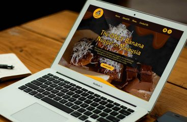 Food & Beverages Web Design Malaysia